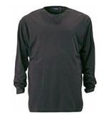 Kingsize Brand TL300 T-shirt de grandes tailles Charcoal (manche longue)