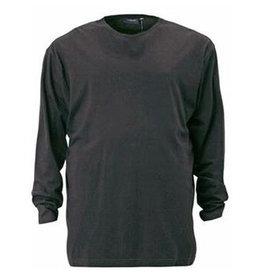 Kingsize Brand TL300 T-shirt de grandes Charcoal Noir (manche longue)