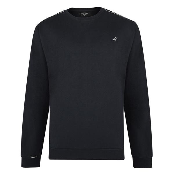 JackSantos J7560 Groten maten zwarte sweater