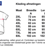 Kingsize Brand TS500 Grote maten Coral T-shirt
