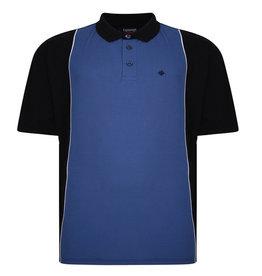 Kingsize Brand PO175 Polo de grandes tailles Bleu