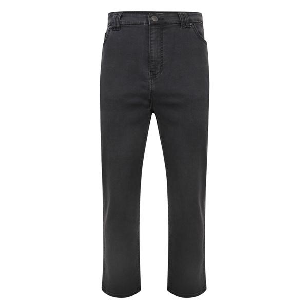 KAM 1003 Stretch Jeans de grandes tailles Gris Anthracite