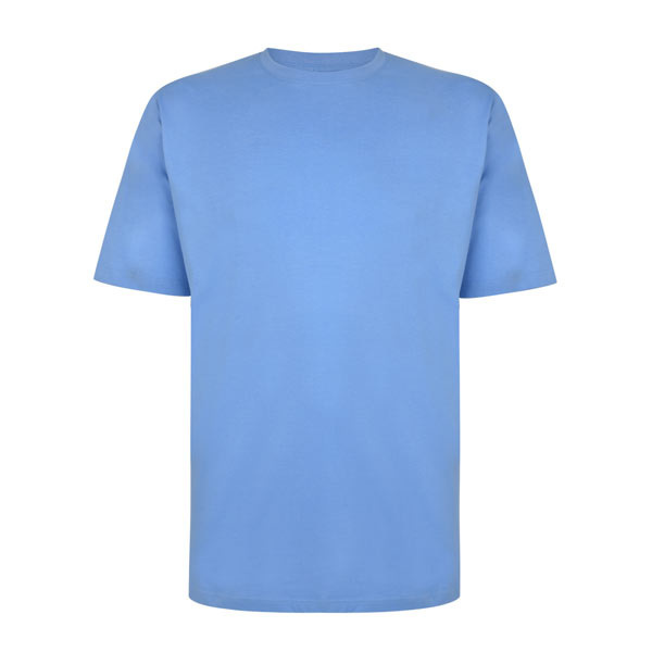 Kingsize Brand TS700 T-shirt de grandes tailles Bleu