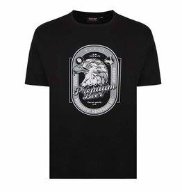 "Kingsize Brand T337 T-shirt de grandes tailles ""Premium Beer"""