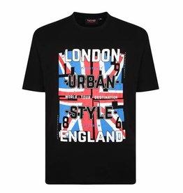 """Kingsize Brand T329 T-shirt de grandes tailles """"London"""""""