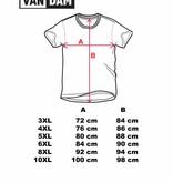 VANDAM 7715 T-shirt de grandes tailles Blue