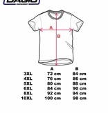 DAGIO 11701 T-shirt de grandes tailles Blue