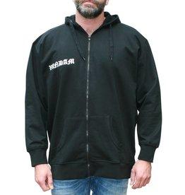 VANDAM 8810 Sweat Cardigan de grandes tailles Noir