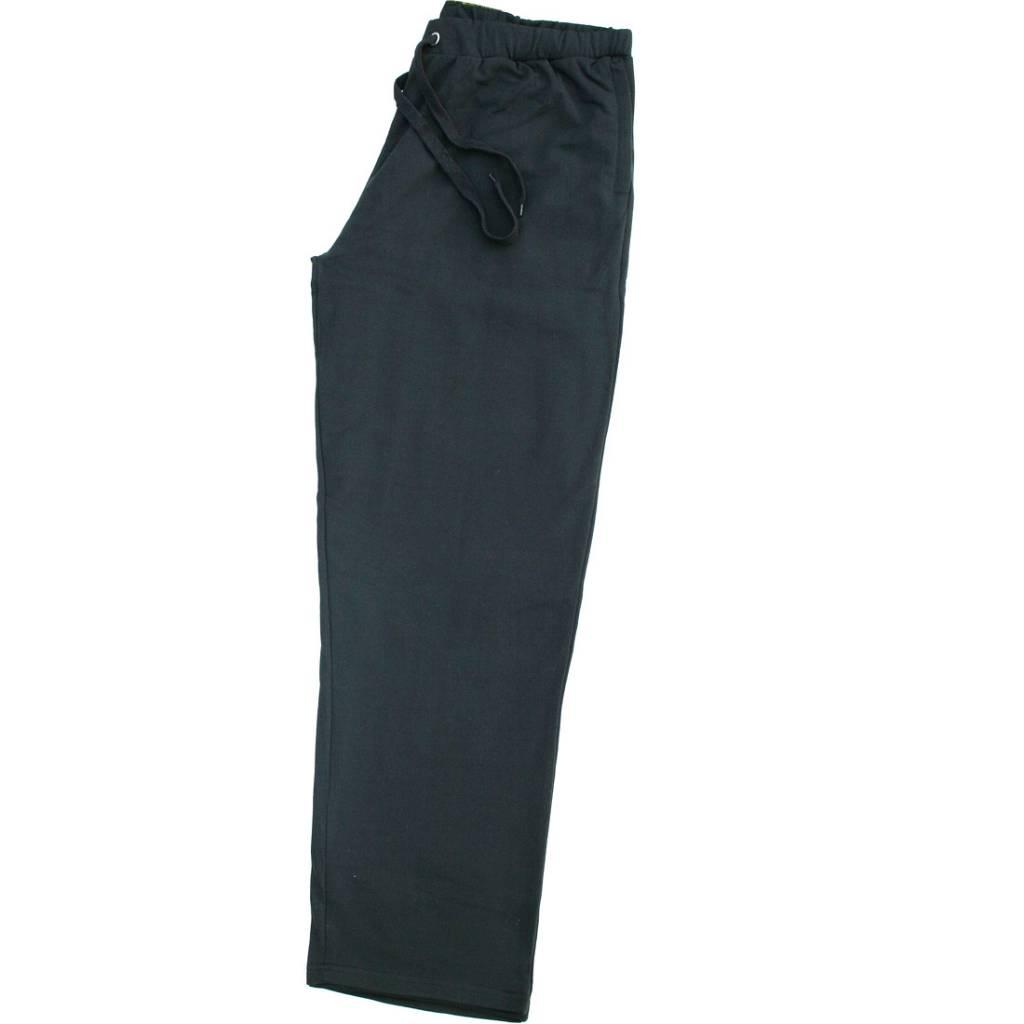 VANDAM 4401 Pantalon Jogging de grandes tailles Noir