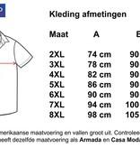 Kingsize Brand SS900 Grote maten Wit Overhemd (korte mouw)