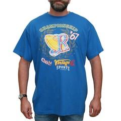 VANDAM 7715 Blue T-shirt