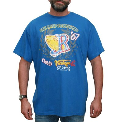 VANDAM 7715 Blue T-shirt