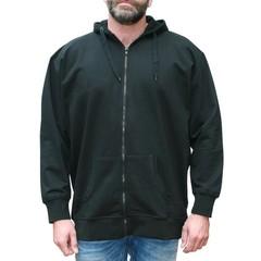 VANDAM 8801 Black sweatcardigan