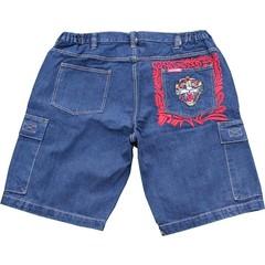 JeansXL 514 blue bermuda