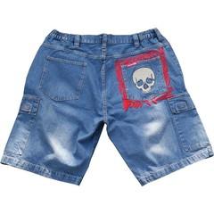 JeansXL 515 light blue jeans bermuda
