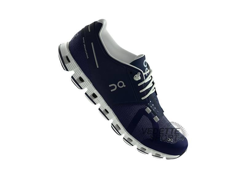 ON Running  On Cloud Loopschoenen Heren Navy
