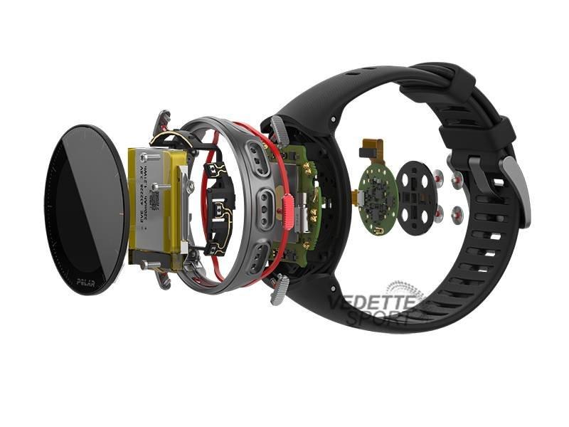 Polar Hartslagmeters Vantage V HR Pro Multisporthorloge