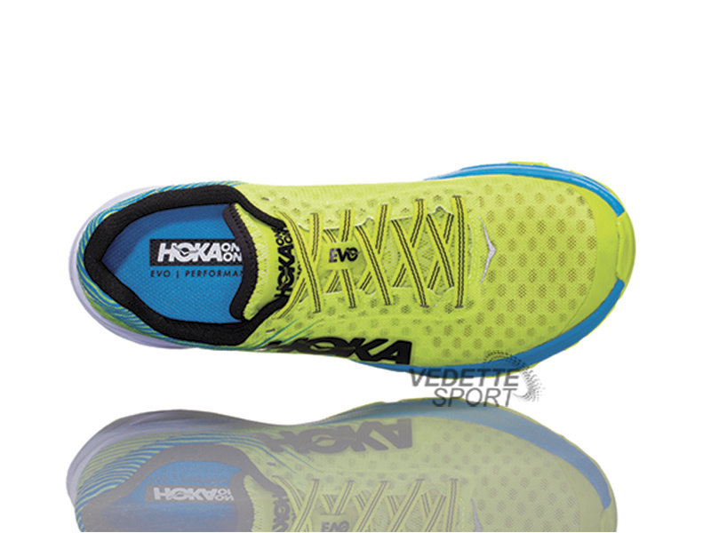 HOKA ONE ONE EVO Carbon Rocket Herenloopschoenen