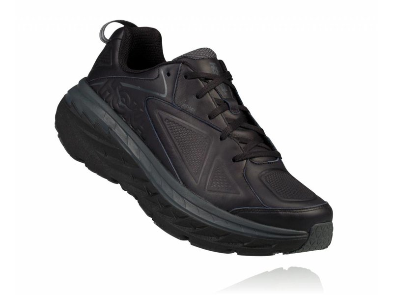 HOKA ONE ONE Bondi 5 Leather Herenloopschoenen