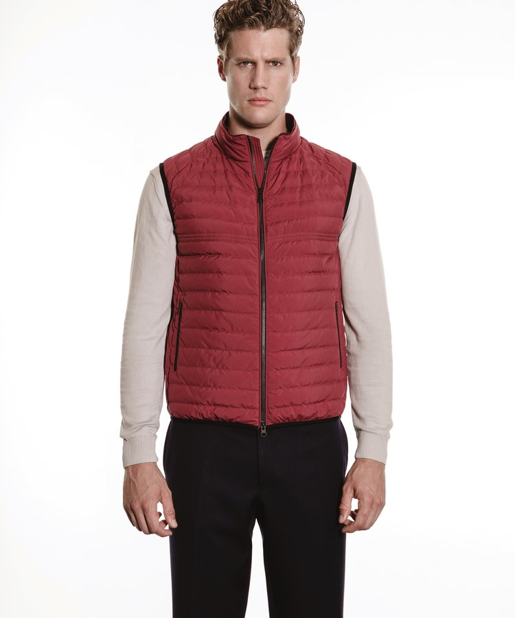 DUNO DUNO RED SOFTSELL BODYWARMER
