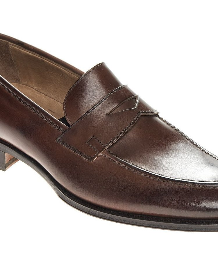 ANDREA ZORI ANDREA ZORI BROWN CALF LOAFER
