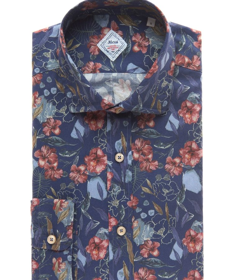 XACUS XACUS BLUE LIBERTY LONDON SHIRT