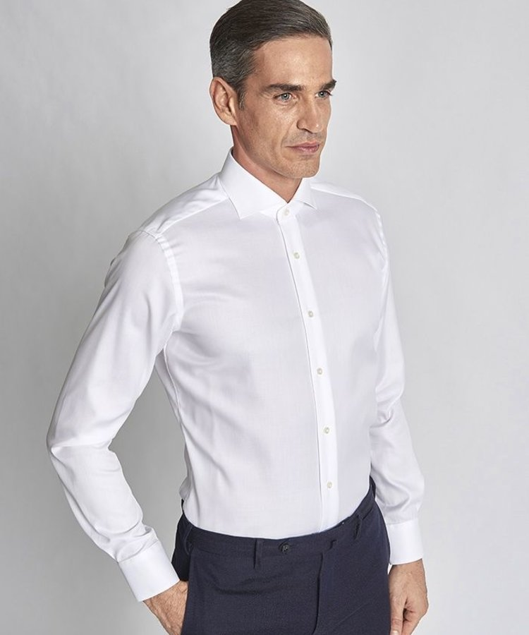 XACUS XACUS WHITE BUSINESS TRAVELSHIRT