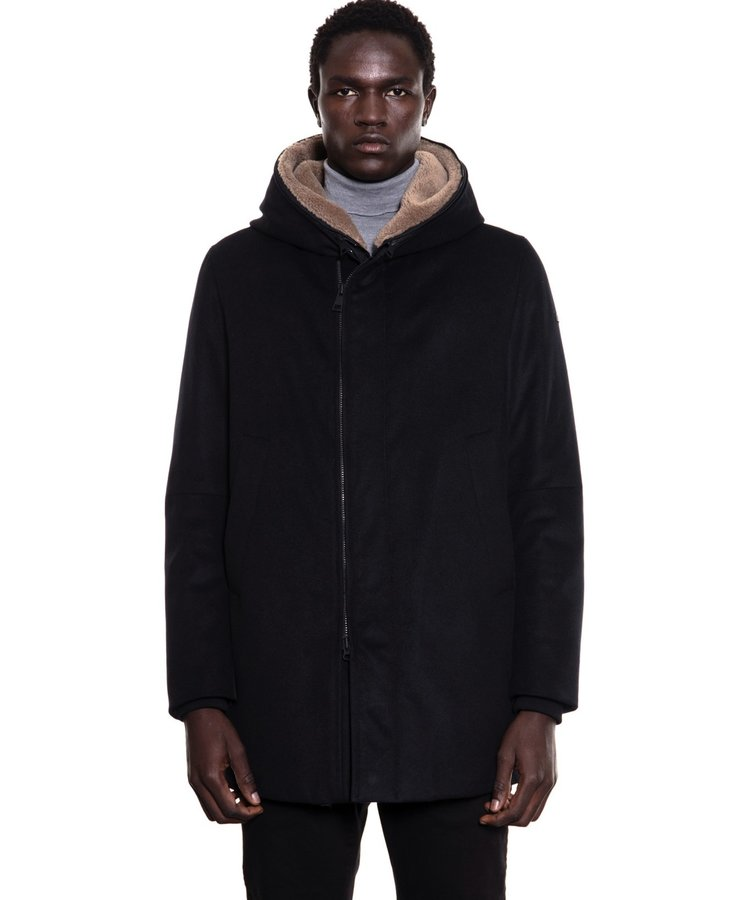 DUNO DUNO RIDING BLUE/BLACK PARKA