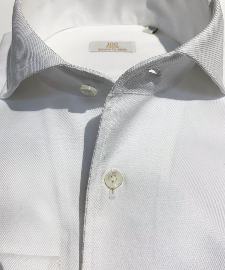 100 HANDS 100 HANDS WHITE TWILL SCHILLER SHIRT