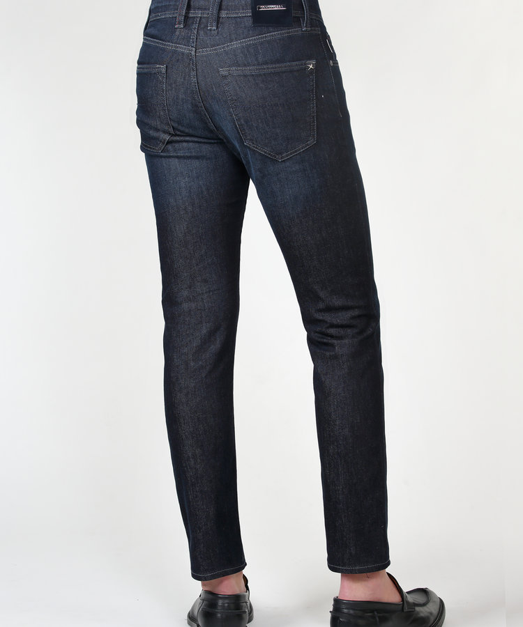TRAMAROSSA TRAMAROSSA 1 MONTH DARK BLUE WASH SUPER STRETCH