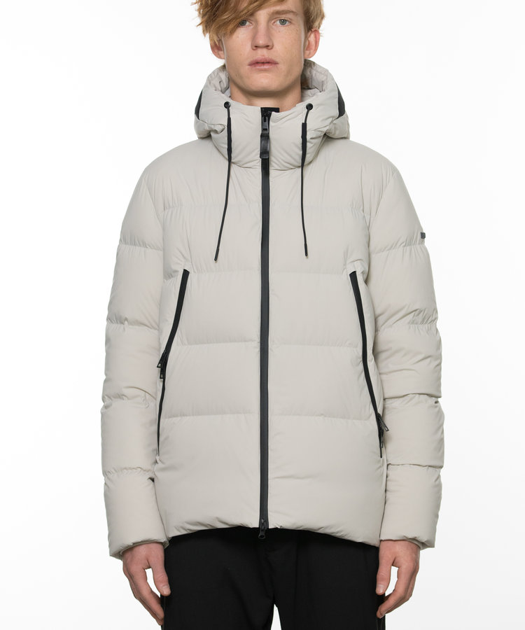 DUNO DUNO QUILTED BI-STRETCH DOWN JACKET
