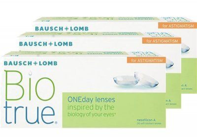 Bausch & Lomb Biotrue ONEday for Astigmatism 90