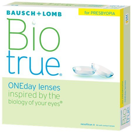 Bausch & Lomb Biotrue ONEday for Presbyopia (90 Pack)