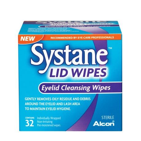 Alcon Systane Lid Wipes