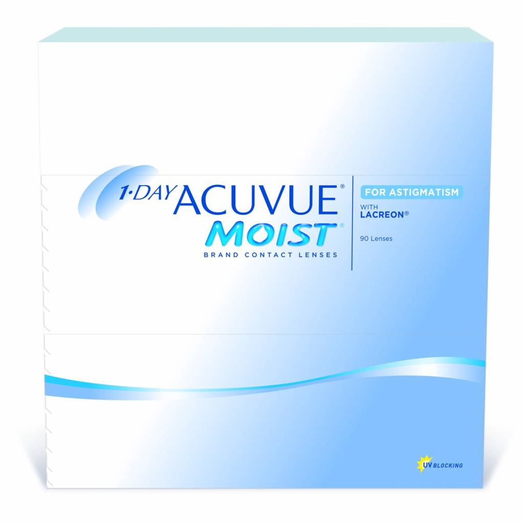 Acuvue Acuvue 1-Day Moist Multifocal (90 Pack)