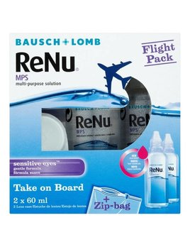 Bausch & Lomb ReNu Flight Pack (2x60ml)