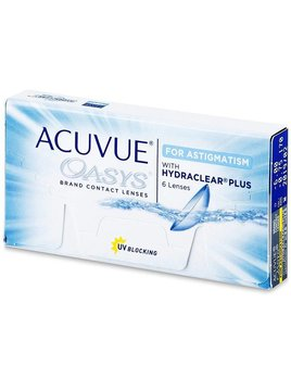 Acuvue Acuvue Oasys for Astigmatism (6 Pack)