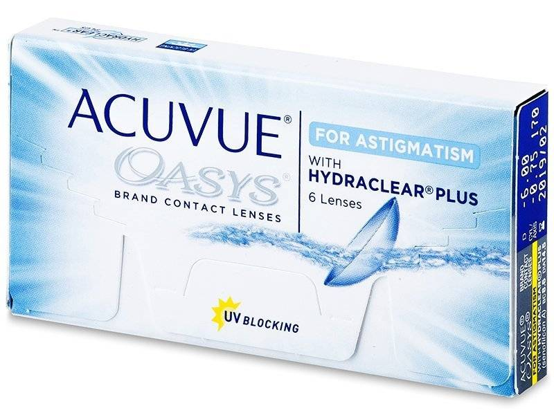 Acuvue Acuvue Oasys for Astigmatism (6 Pack)