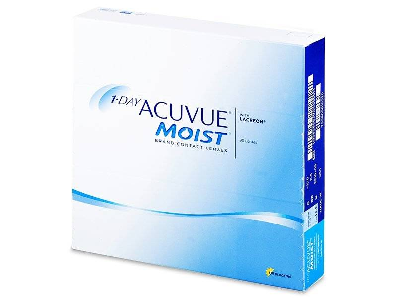 Acuvue 1 Day Acuvue Moist (90 Pack)