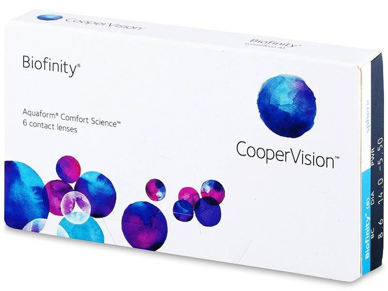 CooperVision Biofinity (6 Pack)