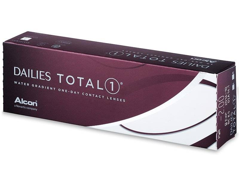 Dailies Dailies Total 1 (30 Pack)