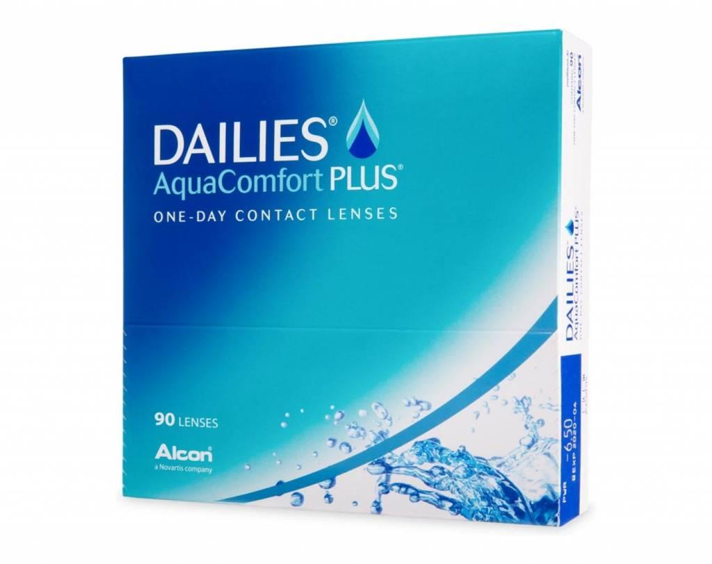 Dailies Dailies AquaComfort Plus (90 Pack)