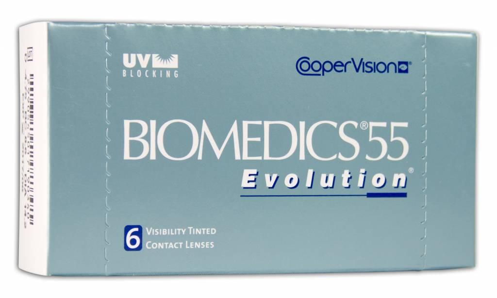CooperVision Biomedics 55 Evolution (6 Pack)