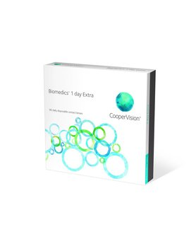 CooperVision Biomedics 1 Day Extra (90 Pack)