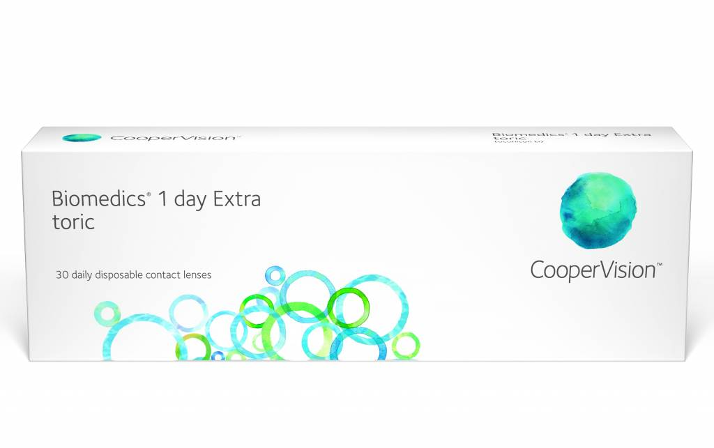 CooperVision Biomedics 1 Day Extra Toric (30 Pack)