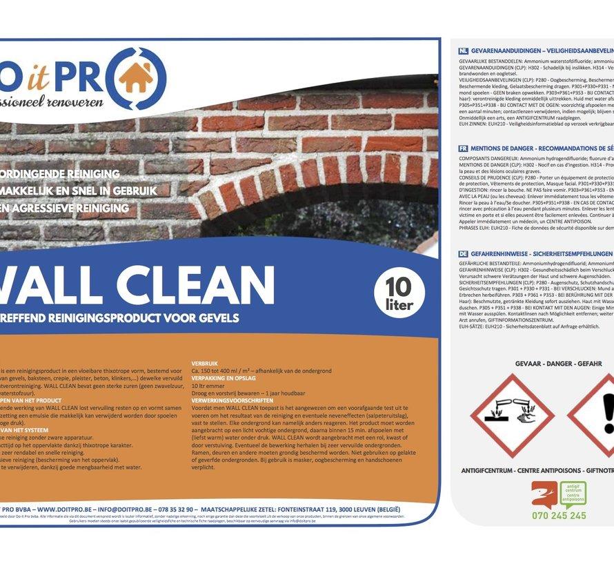 WALL CLEAN (10L)
