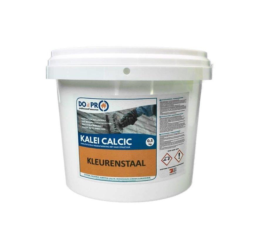 KALEI CALCIC - Échantillon de couleur (1 x 0,4kg)