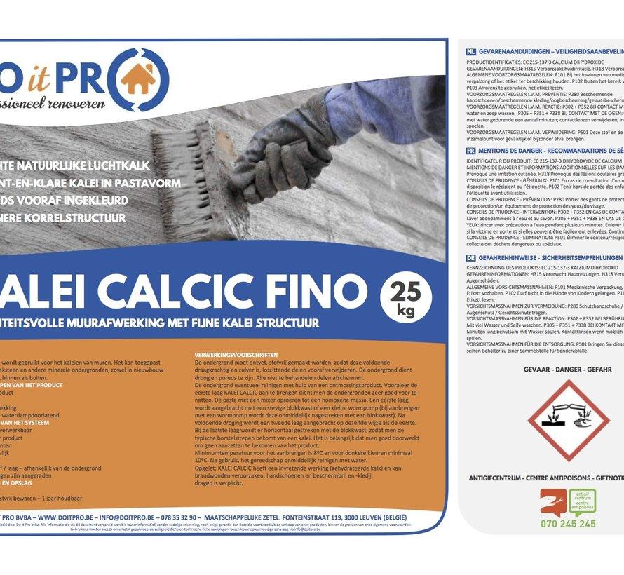 KALEI CALCIC FINO (25kg)