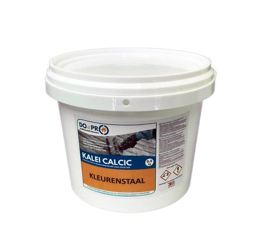 KALEI CALCIC - Kleurstalen pakket (3 x 0,4kg)