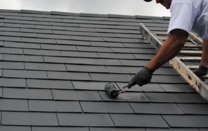 Ontdek onze dakverven voor leien & pannen